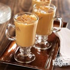 Iced Vanilla Latte from Folgers