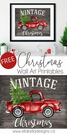 FREE CHRISTMAS WALL ART PRINTABLES printables christmas printables before christmas printables before christmas printables free christmas printables Christmas Wall Art, Christmas Signs, Christmas Holidays, Merry Christmas Banner, Christmas Music, Christmas Movies, All Things Christmas, Christmas Ornaments, Christmas Red Truck