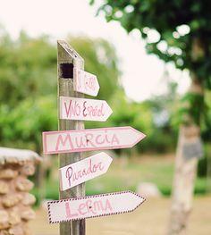 #señales para #boda en #lerma