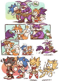 Big the cat Sonic 3, Sonic And Amy, Sonic Fan Art, Sonic The Hedgehog, Shadow The Hedgehog, Knuckles The Echidna, Big The Cat, Z Toon, Jagodibuja Comics