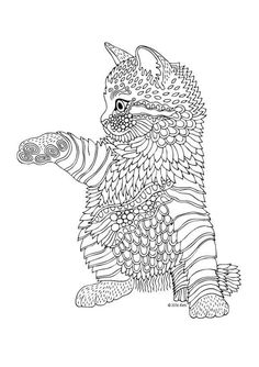 Cat Coloring Book for Adults . 24 Cat Coloring Book for Adults . Cat Coloring Pages for Adults Best Coloring Pages for Kids Dog Coloring Page, Animal Coloring Pages, Printable Coloring Pages, Coloring Pages For Kids, Coloring Books, Coloring Sheets, Mandala Coloring Pages, Online Coloring, Cat Colors