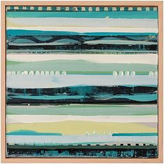 Megan Donnelly Between the Lines in Turquoise
