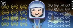 """TAIKO Studios presents the story of Luna, a Chinese American girl who dreams of becoming an astronaut. Keep an eye out for """"One Small Step"""" in the 2d Character Animation, Animation Film, Noam Chomsky, Kansas, Bobby, Chinese American, American Girl, Shading Techniques, One Small Step"""