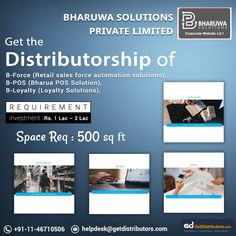 Get the of ERP solutions like B-POS (Bharua POS Solution), B-Loyalty (Loyalty Solutions) & B-Force (Retail sales force automation solutions), under the brand name Bharuwa Solutions. Share your contact number to grab this Hardware Software, Computer Hardware, Business Opportunities, Brand Names, Accounting, Investing, Number, Marketing, Pos