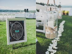 This couple expressed their love of the beach in this gorgeous whimsical Northwest beach wedding, featuring a stunning wedding dress by Maggie Sottero.