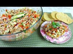 Ceviche de Soya - ¡Sencillo y Saludable! - YouTube