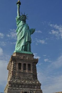 There is something so magical about coming into NY Harbor and being greeting by this great lady... the Statue of Liberty.