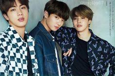 Jin, Jungkook, Jimin