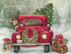 e63448a528581f3625d80868dd1d0e47  boxed christmas cards christmas scenes