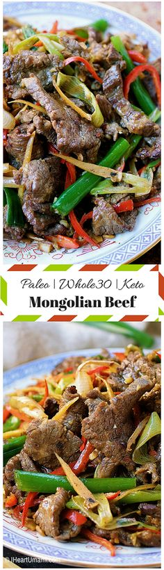 Paleo Mongolian Beef (AKA) Beef with Scallion and Ginger Stir-Fry ! CLICK Image for full details Paleo Mongolian Beef (AKA) Beef with Scallion and Ginger Stir-Fry ! Then you certainty d. Paleo Whole 30, Whole 30 Recipes, Whole Food Recipes, Cooking Recipes, Healthy Recipes, Dessert Recipes, Steak Recipes, Recipes Dinner, Whole 30 Meals