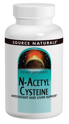 Source Naturals N-Acetyl Cysteine 1000 mg - 120 Tablets