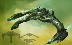 Star+Trek+Online+Romulan+warbird+concept.jpg (1280×800)