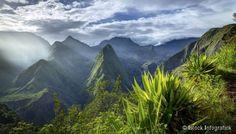 Sculptée par une activité volcanique millénaire, l'île de la Réunion propose des paysages vertigineux, à l'image de ses trois cirques. Dispos&eacut...