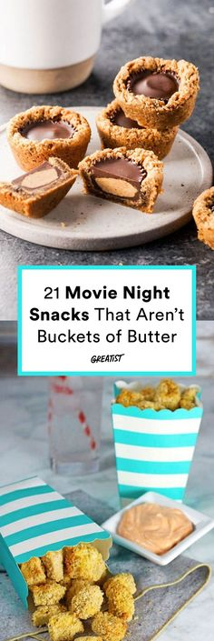 Rotten tomatoes would give these snacks a 100-percent fresh rating. #greatist https://greatist.com/eat/movie-snacks-that-are-healthy