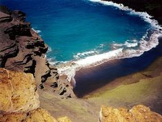 Punalu Beach, Hawaii - Black Sand Beach