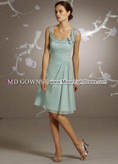 Sky blue Bridesmaids Dress(9131)