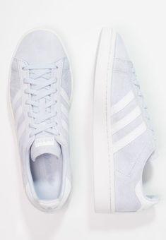 adidas Originals CAMPUS - Sneaker low - aero blue/footwear white/crystal white - Zalando.de