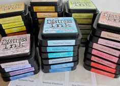 One Lucky Day: Distress Ink Labels