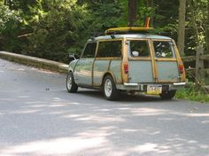 surfer mini woody