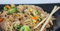 A takeout favorite, this is a Thai street dish filled with flavor and heat. Called drunken noodles because the dish was designed for late...