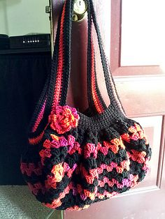 Ravelry: Project Gallery for 29-210-44 Striped Bag pattern by Pierrot (Gosyo Co., Ltd)
