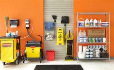 Space Saving Cleaning Closet Organization Ideas - The Urban Interior