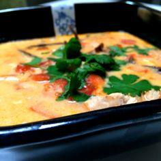 Zupa tajska - Patchwork Thai Red Curry, Ethnic Recipes, Food, Scrappy Quilts, Meal, Essen, Hoods, Meals, Eten