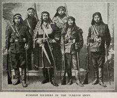 Kurdish Soldiers in the Ottoman Army, 1890s (Osmanlı Ordusunda Kürtler)