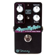 Get the Keeley Dyno My Roto Tri-Chorus, Rotary Speaker,Rotary Flanger Pedal from Andertons with free next day delivery in the UK!
