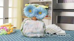 Baby Boy Diaper Cake Owl Diaper Cakes, Diaper Cake Boy, Baby Diaper Crafts, Baby Owls, Baby Boy, Cake Youtube, Crochet Hats, Boys, Shower Ideas