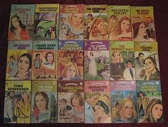 Vintage Harlequin Romance Novels Lot of 110 Different 1960s & 70s All Listed Art (08/29/2012)