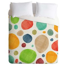 Nick Nelson Bursts Duvet Cover | DENY Designs Home Accessories
