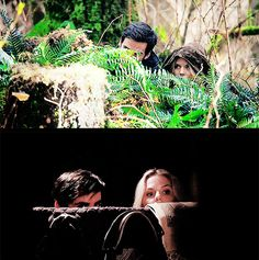 Emma and Hook, the professional spies...