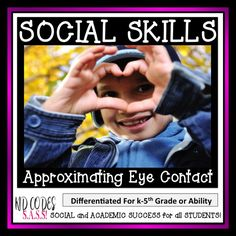 Eye Contact Approximation Activities: Fun activities to help children approximate eye contact while engaging in conversations with others.