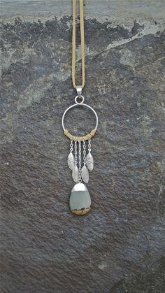 Sterling Silver, Picassa Stone Dreamcatcher