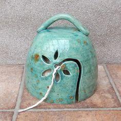 Yarn belll knitting or crochet wool bowl hand thrown pottery ceramic