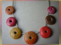 grated crayons in translucent polymer clay