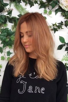 Loose waves and light auburn colour by Imogen Starr from Circles of Subiaco - a WA-NT finalist to the 2018 L'Oreal Professionnel Colour Trophy.