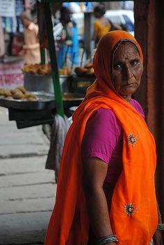 Woman / Jaipur / Rajahstan / India