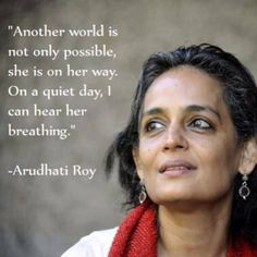 Another world is not only possible, she is on her way. On a quiet day, I can hear her breathing. Another World, Oppression, I Can, Acting, Heart, Day, Inspiration, Biblical Inspiration, Inhalation