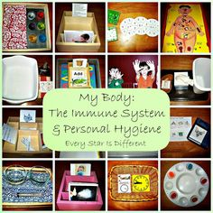 Immune system and personal hygiene learning activities and free printables for kids.