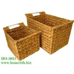 Water Hyacinth trays, set of 2 or set of 3, 4... with iron frame and natural color