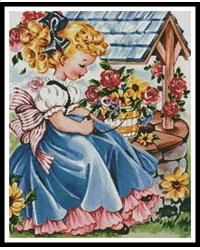 Solve Themes Vintage Illustrations/pictures - wishing you well card jigsaw puzzle online with 80 pieces Vintage Birthday Cards, Vintage Greeting Cards, Vintage Christmas Cards, Vintage Valentines, Vintage Postcards, Vintage Artwork, Vintage Paper, Vintage Illustrations, Vintage Pictures