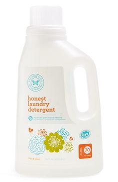 Free shipping and returns on The Honest Company Laundry Detergent at Nordstrom.com. The natural ingredients of this eco-friendly laundry detergent are gentle enough for sensitive skin while effectively handling life's stubborn stains and everyday messes—and the balanced pH formula keeps colors bright without harmful additives. The Honest Company, founded by Jessica Alba, is committed to offering products free of health-compromising chemicals and compounds.