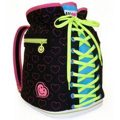 Girls' Bags | Black Sneaker Backpack