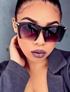 Sunglasses For Your Face Shape, Round Lens Sunglasses, Cute Sunglasses, Cat Eye Sunglasses, Sunglasses Women, Sunnies, Versace, Tom Ford, Fashion Eye Glasses