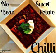 sweetpotchilli http://ahappyhealthnut.com/2013/10/03/no-bean-sweet-potato-chilli/