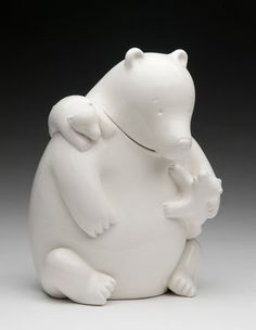 Tom Otterness Designs A Hip Home For Cookies. The Mama Bear Cookie Jar.
