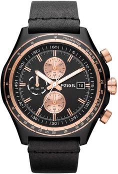 capri jewelers arizona caprijewelersaz com fossil men s fossil watch ch2819 dylan leather watch black