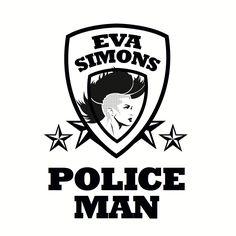 Cover Eva Simons - Policeman